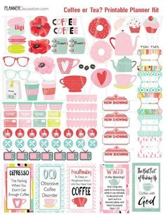 Image result for free planner stickers 2018