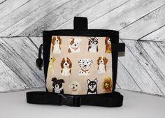 Chalk Bag Dogs, Chalk bag, Dog Chalk Bag, Climbing Chalk Bag, Large Chalk Bag, Chalkbag, Chalk bag and belt, Chalk bag with pocket,