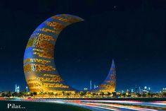 Moon tower Dubai