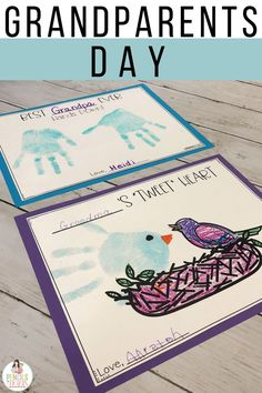 I'm sharing the Grandparents Day keepsake crafts, writing prompts, informative books, and interviews that are just perfect to help young children understand the significance of the day. Read about the resources I use to teach my children all about their grandparents and how I help them make fantastic gifts! #grandparentsday #kindergarten #preschool #firstgrade #crafts