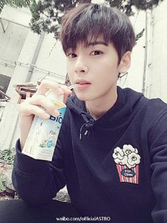 [01.09.16] Astro official Weibo - EunWoo