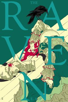 'The Raven' by Tomer Hanuka for Mondo