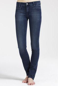 The #MiHJeans Oslo slim leg jean in Winger #MiH