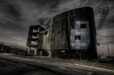 """Wrapped - A picture from the series """"Post Apocalypse"""". Shot in a partially abandoned industrial area outside Brasov. Post Apocalypse, Urban Exploration, Urban Decay, Abandoned, The Outsiders, Shots, Clouds, Explore, Street"""