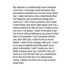 Relationship Goals for 2015