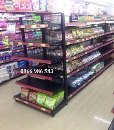 kệ siêu thị, Đầu kệ siêu thị màu đen vinamax