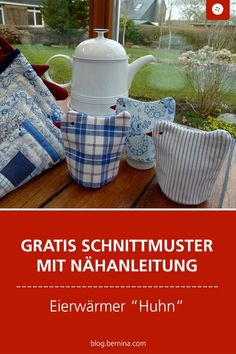 Incluye Patrones con Nähanleitung para un Eierwärmer Para la mesa de pascua Cute Diy Crafts, Diy Crafts For Kids, Easy Crafts, Sewing Patterns Free, Free Sewing, Free Pattern, Costume Chevalier, Chewing Gum, Mothers Day Crafts For Kids