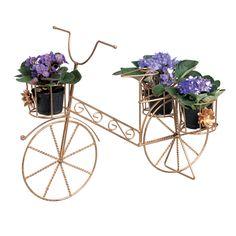 Bicicleta de Jardim Decorativa. Essa bicicleta vai revalorizar seu plano decorativo enfeitando seu jardim.
