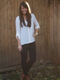 @Forever 21 top with Zara pants #jssouthernchic
