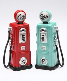 Loving this Gas Salt & Pepper Shakers on #zulily! #zulilyfinds
