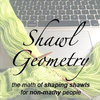 Calculate Shawl Increases/Decreases per shape (semi circle)