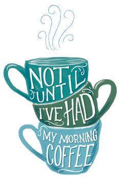 My morning coffee