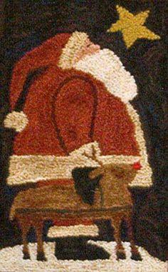 "Christmas Eve - ""The Quilted Crow Quilt Shop, folk art quilt fabric, quilt patterns, quilt kits, quilt blocks"