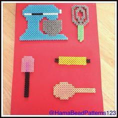 Hama Bead Baking Items by HamaBeadPatterns123