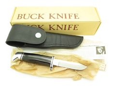 2002 Buck Knives Logo 100th Anniversary Tie Tack Lapel Hat Pin 110 112 119 124