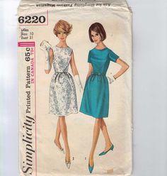 1960s Vintage Sewing Pattern Pattern by historicallypatterns, $9.00