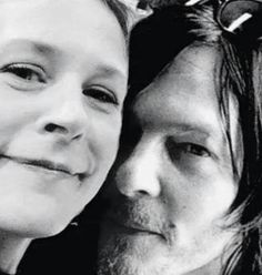 The Walking Dead ... Carol and Daryl ...