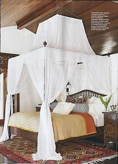 I'm not usually into Bohemian but it's kinda hard not to love this canopy