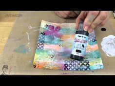 PaperArtsy: Abstract Journalling { With Ellen Vargo stamps by Emma Godfrey}