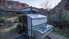 Tested Hiker Trailer the World s Most Affordable Teardrop Trailer Outside Online Camping Diy, Truck Camping, Camping Hacks, Camping Ideas, Tent Camping, Camping Supplies, Glamping, Solar Camping, Truck Tent