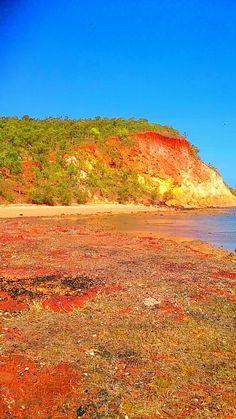 Rainbow cliff, Gove, northern territory, Australia