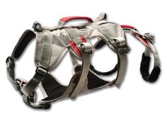 This strength-rated belay #harness will open up areas that were previously difficult for dogs to access, while providing an increased level of safety, comfort, and convenience. The #Ruffwear DoubleBack Harness is designed to safely lift and lower #dogs in exposed areas.