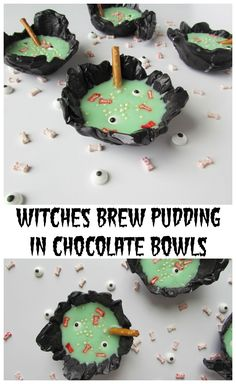 Witches Brew Pudding