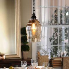 Amber Glass Pendant Light | Kirkland's