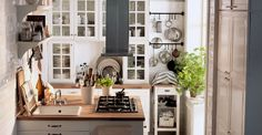 Solutions for a 75-Square Foot Kitchen: IKEA Video