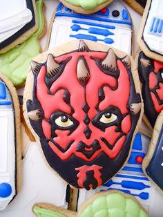 Star Wars Cookies .Oh Sugar Events http://ohsugareventplanning.blogspot.com/