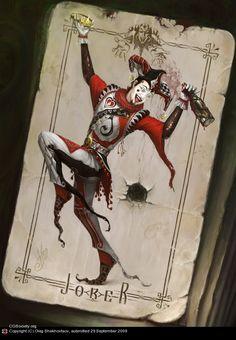 Playing Card Art: Joker by Oleg ShekhovtsovThe Joker designed by Oleg Shekhovtsov. View Post
