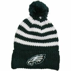 0bd3d0bfd New Era New York Jets Ladies Chunky Stripe Cuffed Knit Ski Hat - Green Jet  Fan