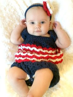 Check out this item in my Etsy shop https://www.etsy.com/listing/235926477/july-4th-baby-dress-bloomers-and