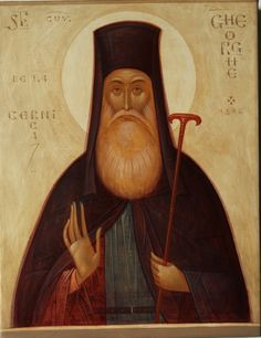 Romanian ___ by Gabriel Toma Chituc, St. Venerable George of Cernica Paint Icon, Peter Paul Rubens, Best Icons, Byzantine Art, Orthodox Icons, Sacred Art, Religious Art, Religious Icons, Renaissance Art