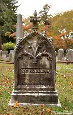 Autumn in Sleepy Hollow Cemetery, New York by AC Santos