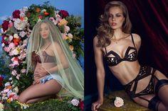 Beyonce孕照的內衣大有來頭! 5個高級內衣品牌,為情人節帶來小性感