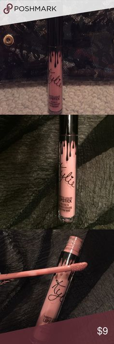 KoKo K by Kylie Cosmetics One (1) Kylie Jenner Matte liquid lipstick in KoKo K. Is a really pretty nude-pink. Really pretty color, used once. 100% authentic. Will sanitize before shipping. Kylie Cosmetics Makeup Lipstick