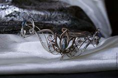 """Купить Диадема """"Нимфа"""" - диадема, диадемы, украшение на голову, украшение для причёски, эльфийские диадемы Foto Fantasy, Fantasy Life, Queen Aesthetic, Princess Aesthetic, Cute Jewelry, Hair Jewelry, Dark Fairytale, Crystal Crown, Circlet"""