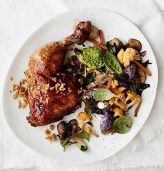 Valkosipulikana | Kana | Soppa365 Feta, Food And Drink, Chicken, Cooking, Recipes, Kitchen, Recipies, Ripped Recipes, Recipe