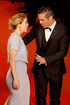 Colin Farrell, Léa Seydoux, at event of The Lobster, 2015