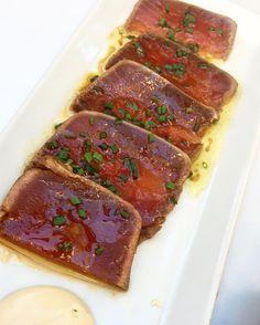 Tataki de atún versión #VidalRestaurante    #gastrotapas #japo