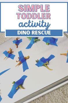 Stress Free Toddler Dinosaur Activity