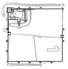 Portchester Castle Plan - Portchester Castle - Wikipedia, the free encyclopedia