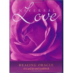 Universal Love Healing Oracle Cards (Hardcover)  http://www.picter.org/?p=0957914903
