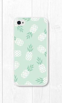 Coque Ananas Vert pastel - Menthe iPhone 6 Plus Case Pineapple iPhone Case Mint par fieldtrip Iphone 5s Hülle, Iphone 5c Cases, Cute Phone Cases, Iphone 6 Plus Case, Laptop Cases, Coque Iphone 5c, Coque Smartphone, Smartphone Covers, Ipod 5