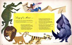 Illustrator:  Jacques Wellington Rupp - for Walt Disney's Magazine - April 1959