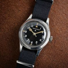 RAF-issued Jaeger-LeCoultre Mark XI. Less than 3000 of these were ever made