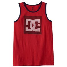 Boys 8-20 DC Shoe Co Offshot Tank Top, Boy's, Size: 18-20, Red
