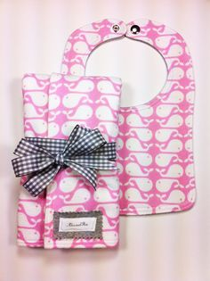 Flannel Bib Gift Set