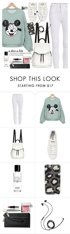 """Adorable"" by pokadoll ❤ liked on Polyvore featuring rag & bone, adidas Originals, Bobbi Brown Cosmetics, Marc by Marc Jacobs, Molami, Sheinside and shein"